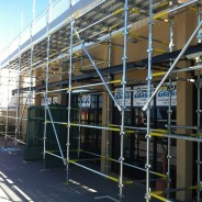 Large and small commercial scaffold jobs.